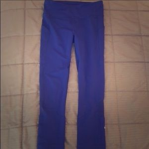 Lululemon cropped blue sapphire running pants, 4